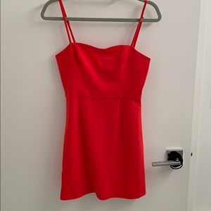 French Connection adorable red mini dress. Size 4